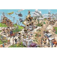 Jigsaw puzzle 1500 pcs - Tour de France - Jan van Haasteren (by Jumbo)