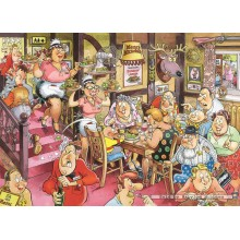 Jigsaw puzzle 1000 pcs - Wasgij Mystery 5 - Sunday Lunch - Graham Thompson (by Jumbo)