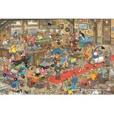 Jigsaw puzzle 1500 pcs - The Dog Show - Jan van Haasteren (by Jumbo)