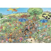 Jigsaw puzzle 2000 pcs - The March - Jan van Haasteren (by Jumbo)