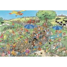 Jigsaw puzzle 2000 pcs - The March - Jan van Haasteren (by Jumbo)