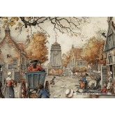 Jigsaw puzzle 1000 pcs - The Village Square - Anton Pieck (by Jumbo)