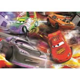 Jigsaw puzzle 100 pcs - Cars Glow in the dark - Disney (by Jumbo)