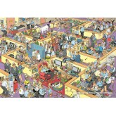 Jigsaw puzzle 2000 pcs - The Office - Jan van Haasteren (by Jumbo)