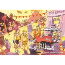 Jigsaw puzzle 150 pcs - Wasgij Destiny 1 Road Trip - Graham Thompson (by Jumbo)