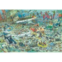 Jigsaw puzzle 2000 pcs - Deep Sea Fun - Jan van Haasteren (by Jumbo)