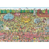 1000 pcs - Fairground - Where is Wally (by Jumbo)