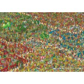 Jigsaw puzzle 1000 pcs - The Fantastic Flower Garden - Where is Wally (by Jumbo)