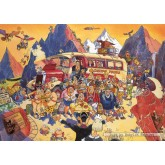 Jigsaw puzzle 500 pcs - Wasgij Original 5 - Late Booking - Graham Thompson (by Jumbo)