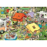 Jigsaw puzzle 150 pcs - Camping - Jan van Haasteren (by Jumbo)