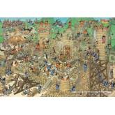 Jigsaw puzzle 2000 pcs - Castle Conflict - Jan van Haasteren (by Jumbo)