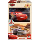 Jigsaw puzzle 16 pcs - Cars (2x) - Disney (by Educa)
