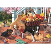 Jigsaw puzzle 1000 pcs - Puppy Playtime (by Jumbo)