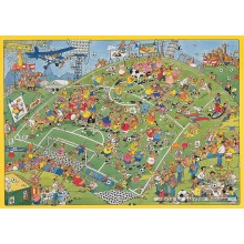 Jigsaw puzzle 500 pcs - Football - Jan van Haasteren (by Jumbo)