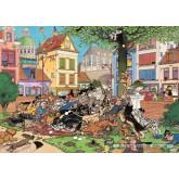 Jigsaw puzzle 500 pcs - Get The Cat - Jan van Haasteren (by Jumbo)