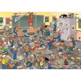 Jigsaw puzzle 500 pcs - Find the Mouse - Jan van Haasteren (by Jumbo)
