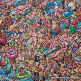 Jigsaw puzzle 625 pcs - Bathers Sunbathing - James Milroy (by Jumbo)