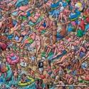 625 pcs - Bathers Sunbathing - James Milroy (by Jumbo)