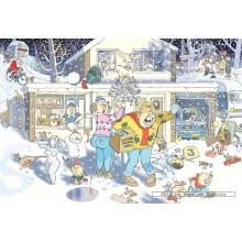 Jigsaw puzzle 1000 pcs - Wasgij Christmas 9 - Graham Thompson (by Jumbo)