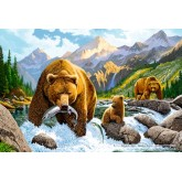 Jigsaw puzzle 500 pcs - Bear Family (by Schmidt)