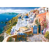 Jigsaw puzzle 1000 pcs - View from Santorin - Sam Park (by Schmidt)
