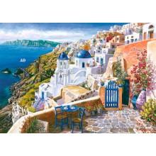 Jigsaw puzzle 1000 pcs - View from Santorin - Sam Park (by Schmidt)