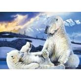 Jigsaw puzzle 1000 pcs - Ice Bears (by Schmidt)