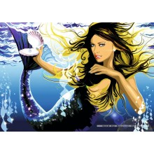 Jigsaw puzzle 1000 pcs - Water Baby - Mandy Reinmuth (by Schmidt)