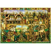 Jigsaw puzzle 1000 pcs - Tree houses - Colin Thompson (by Schmidt)
