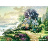 Jigsaw puzzle 1000 pcs - A New Day Dawning - Thomas Kinkade (by Schmidt)