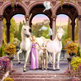 Jigsaw puzzle 500 pcs - Unicorn Princess (by Schmidt)