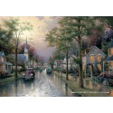 1000 pcs - Hometown morning - Thomas Kinkade (by Schmidt)