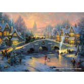 Jigsaw puzzle 1000 pcs - Spirit of Christmas - Thomas Kinkade (by Schmidt)
