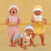 Jigsaw puzzle 1000 pcs - Sunhat Babies - Anne Geddes (by Schmidt)