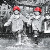 Jigsaw puzzle 1000 pcs - Molly and Macy Splish Splash - David Ellis (by Schmidt)