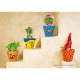 Jigsaw puzzle 1000 pcs - Cactus Wall - Anne Geddes (by Schmidt)