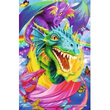 Jigsaw puzzle 1000 pcs - Dragon - Metallic Collection (by Schmidt)