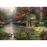 Jigsaw puzzle 1000 pcs - The Garden of Prayer - Thomas Kinkade (by Schmidt)