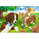Jigsaw puzzle 60 pcs - Playing Puppies (by Schmidt)