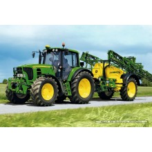 Jigsaw puzzle 40 pcs - Tractor 6630 with Sprayer - John Deere (by Schmidt)