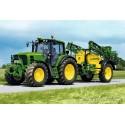 40 pcs - Tractor 6630 with Sprayer - John Deere (by Schmidt)