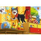 Jigsaw puzzle 60 pcs - Playful Cat (by Schmidt)