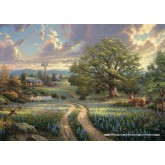 Jigsaw puzzle 1000 pcs - Country living - Thomas Kinkade (by Schmidt)
