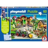Jigsaw puzzle 60 pcs - On the Farm - Playmobil (by Schmidt)