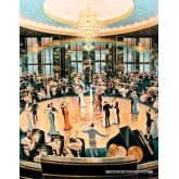 Jigsaw puzzle 1000 pcs - Ballroom - Michael Young (by Schmidt)