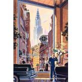 Jigsaw puzzle 1000 pcs - Chryssler building - Michael Young (by Schmidt)