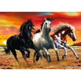 Jigsaw puzzle 1000 pcs - Mustangs (by Schmidt)