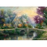 Jigsaw puzzle 3000 pcs - Lamplight Manor - Thomas Kinkade (by Schmidt)