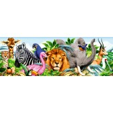 Jigsaw puzzle 1000 pcs - Animal Panorama - Panorama (by Schmidt)