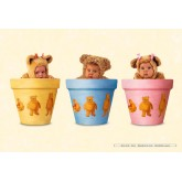Jigsaw puzzle 500 pcs - Baby Bears Pots - Anne Geddes (by Schmidt)